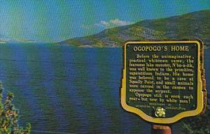 Canada Okanagan Lake Home Of The Ogopogo British Columbia