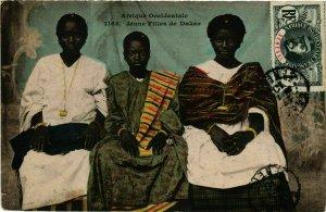 CPA AK Fortier 1165 Jeune Filles de Dakar SENEGAL (812203)