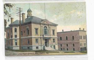 CIty Hall and Post Office, Hallowell, Maine 00-10