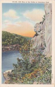 Wisconsin Eau Claire Old Man Of The Dalles At Interstate Park