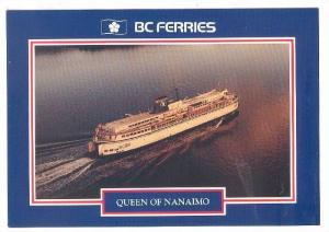 B. C. Ferries Queen Of Nanaimo, British Columbia, Canada, 1964