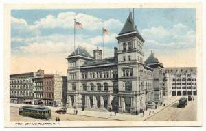Post Office, Albany, New York, PU-1917