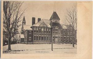 High School Winter View - Groton NY, New York - Verne Morton - UDB