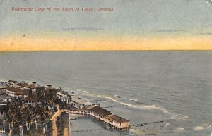 Town of Colon Panama 1913
