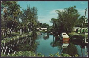 Imperial River,Bonita Springs,FL Postcard BIN