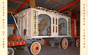 FL - Sarasota. Circus Hall of Fame, Cage Wagon