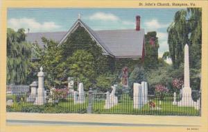 Saint Johns Church Hampton Virginia