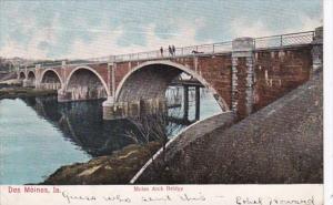 Iowa Des Moines Melan Arch Bridge 1907