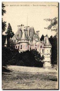 Old Postcard Bagnoles De L Orne Tesse la Madeleine Le chateau