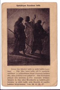 Jesus with Disciples, Bible Quotes in Finnish, Finland