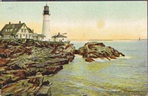 Portland ME - Portland Head Light, published by Leighton & Valentine Co 1910s