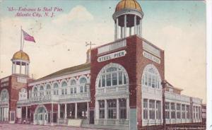 New Jersey Atlantic City Entrance To Steel Pier
