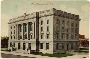 1907-1915 Lincoln Neb. NE Nebraska Post Office Building Antique RARE DB Postcard