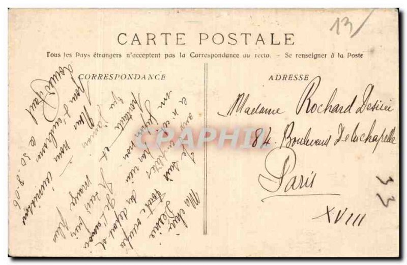 Marseille - Colonial Exhibition - Palace of Cambodia - Old Postcard