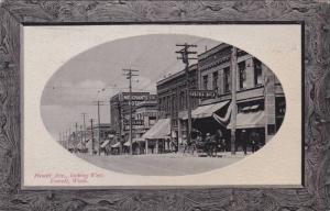 Hewitt Avenue , Looking West , EVERETT , Washington , PU-1913