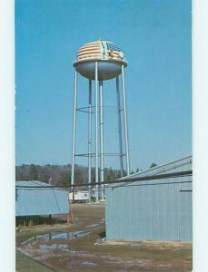 Unused Pre-1980 PEANUT WAREHOUSES BY WATER TOWER Plains Georgia GA t5050