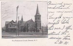 New York Oneonta First Presbyterian Church 1905