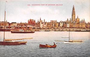 Antwerp Belgium, Belgique, Belgie, Belgien Panoramic View Antwerp Panoramic View