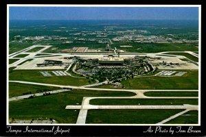 Florida Tampa International Airport Aerial View