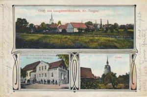 Gruss aus Langenreicheinbach, Kr. Torgau , Germany , 1910