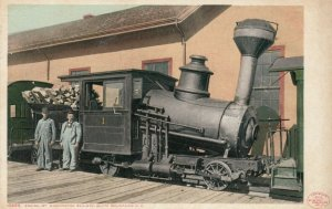NEW HAMPSHIRE, 1900-1910's; Engine, Mt. Washington Railway