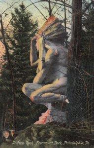 Indian Rock , Fairmount Park , PHILADELPHIA , Pennsylvania ; PU-1907