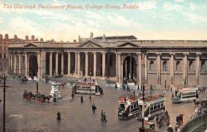 Old Irish Parliament House, College Green Dublin Ireland Unused