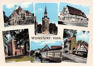 Wunstorf Han, Rathaus Stiftskirche, Ratskeller, Stadtkirche Nordave