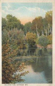SUPERIOR , Wisconsin, 1928 ; Billings Park