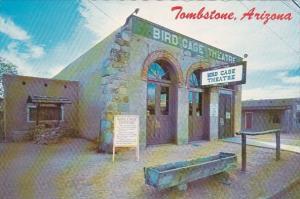 Famous Bird Cage Theater Tombstone Arizona