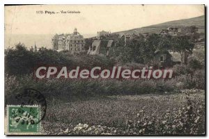 Postcard Old Puys Vue Generale