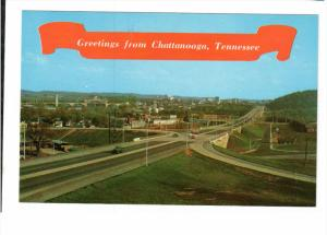 CHATTANOOGA, Tennessee; Greetings, The Picture Window of the South, Skyline...