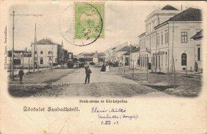 Serbia - Üdvözlet Szabadkárol Deak utcza es Kis Kapolna Subotica Szabadka 04.45