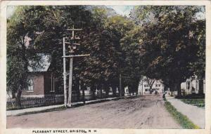 Scenic view of Pleasant Street, Bristol, New Hampshire, PU-00-10s