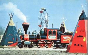 Miniature Model 1865 Train - South Of The Border SC, South Carolina - pm 1975