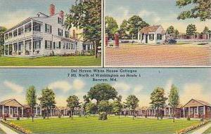 Maryland Berwyn Del Haven White House Cottages Dexter Press