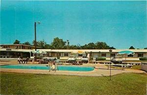 SC, Greenville, South Carolina, University Park Motel, Pool,Dexter Press 92921-B