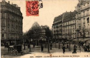 CPA PARIS 17e-Le Rond Pont de l'Avenue de Villiers (322303)