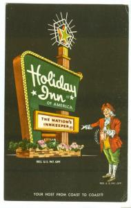 Holiday Inn, Oklahoma City, Oklahoma, unused Postcard