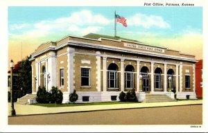 Kansas Parsons Post Office Curteich