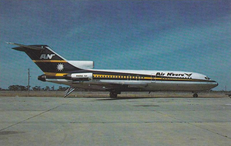 Air NAURA Boeing 727-100 Jet Airplane , 60-80s