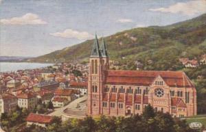 Austria Bregenz Panorama 1925