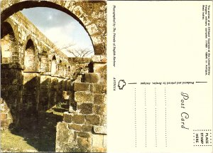 Arches of an Officers' Quarters at the ruined Shirley Heights military comple...