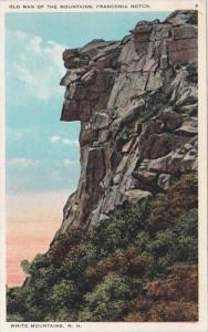 New Hampshire White Mountains Old Man Of The Mountains Franconia Notch