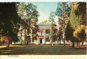 Vintage Postcard The Hermitage Home of Andrew Jackson Knoxville Tennessee # 1433