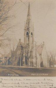 RP; PENN YAN , New York , 1906 ; Presbyterian Church ; HARRIS Photo