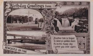 RP, Three Views, Barras Bridge, Waterfall, High Level & Swing Bridges, Newcas...