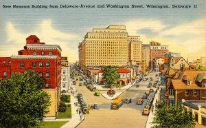 DE - Wilmington. Nemours Building, Delaware & Washington Sts