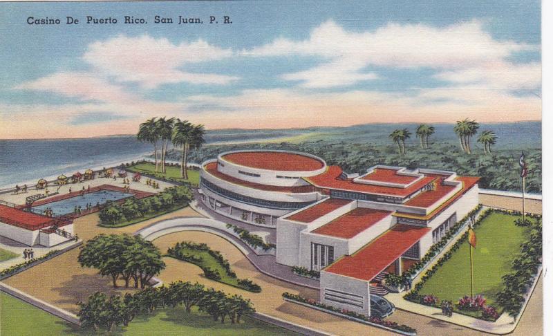 SAN JUAN , Puerto Rico, 30-40s; Casino De Puerto Rico
