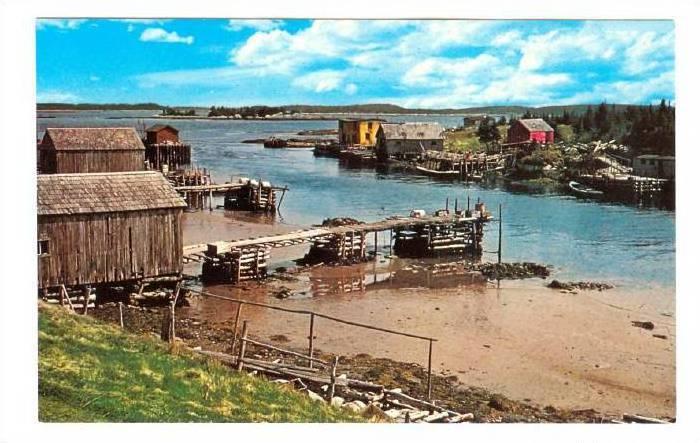 Little Harbour, Eastern Shore, Nova Scotia, Canada, 1940-1960s